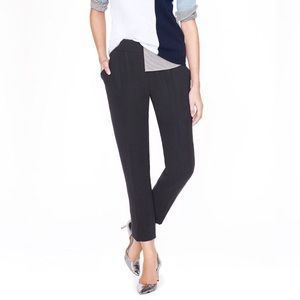 nwt | j.crew collection cropped crepe curator pant